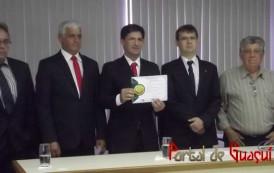 Prefeitos e vereadores eleitos e reeleitos são diplomados na região do Caparaó.