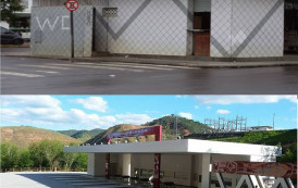 Comerciantes sofrem prejuízo após mudança da estação rodoviária de Alegre