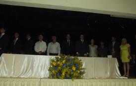 Sérgio Fonseca toma posse da prefeitura de Jerônimo Monteiro