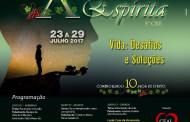 Vem aí mais uma semana espírita em Guaçuí-ES.