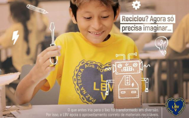 Campanha da LBV Eu Ajudo a Mudar!