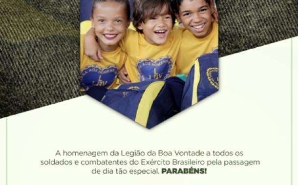 LBV homenageia o Exército Brasileiro