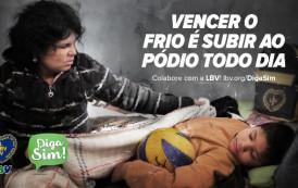 LBV leva esperança a municípios brasileiros que sofrem com a seca e com o frio