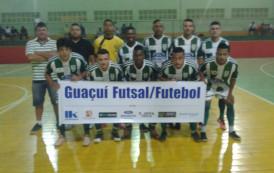 Time de Guaçuí classifica para mais uma etapa do Campeonato Regional de Futsal