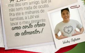 Wesley Safadão apoia Campanha do Natal Permanente da LBV