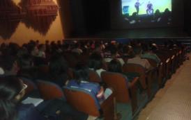 Alunos da Escola Monsenhor Miguel de Sanctis participam de aulão para o Enem