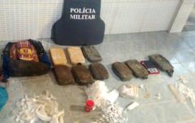 Polícia Militar apreende dez quilos de cocaína em Bom Jesus do Norte