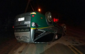 Dois acidentes na noite de domingo em duas cidades do Caparaó,ES