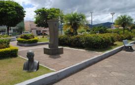 Busto é vandalizado em São José do Calçado