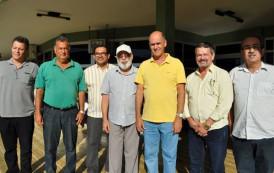 Representante da Funasa atende convite do Prefeito Sérgio Fonseca e visita Jerônimo Monteiro.
