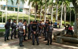 Policiais Militares são vistos em Cachoeiro de Itapemirim