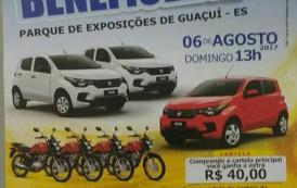 Realizado com sucesso o sorteio beneficente a APAE de Guaçuí