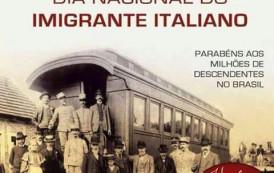 Um Salve a todos os Italianos do Brasil. Parabéns pelo seu dia.
