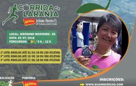 Corrida da laranja em Jerônimo Monteiro-ES. Informe-se aqui.