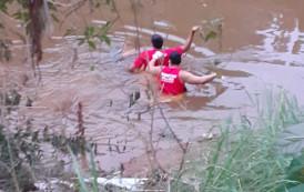 Corpo de homem desaparecido é encontrado boiando no Rio Veado em Guaçuí-ES.