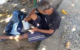 Abandonado e sem recursos no Rio de Janeiro-RJ a 20 anos, ex serralheiro de Guaçuí quer voltar pra casa.