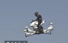'Moto voadora' cai em Dubai; veja o vídeo do acidente