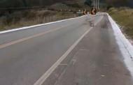 Trecho de alto risco localizado na Serra do Furtado aguarda obras de recuperação.