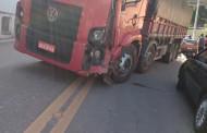 Acidente agora à tarde (27/09) em Alegre-ES.