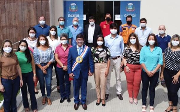 Equipe da administração Municipal - Guaçuí