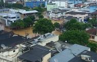 Região dos extremos dos três estados é castigada pelas chuvas e enchentes.