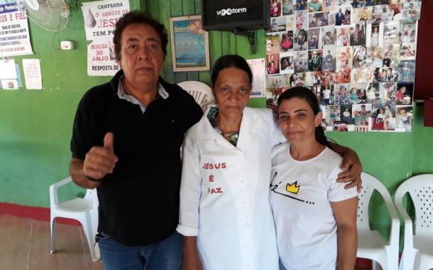 De volta os trabalhos da Missionária Fátima, em Guaçuí-ES/Brasil.