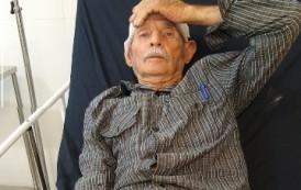 Mais um idoso atropelado no centro de Guaçuí-ES.