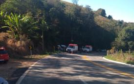Acidente com vítimas fatais na tarde de domingo (25/06) na serra de Alegre-ES.