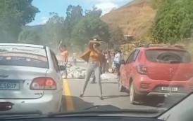 Acidente com duas mortes no final da manhã, na serra de Alegre-ES entre Alegre e Celina