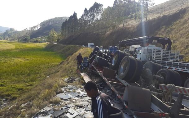 Grave acidente em São Francisco do Ibitirama-ES.