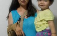 Criança de 1 ano e 2 meses e sua mãe, estão precisando de ajuda urgente.