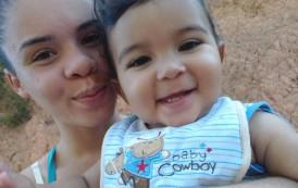Mãe busca ajuda para o filho de 10 meses na cidade de Guaçuí-ES.