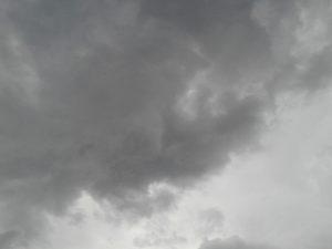Céu encoberto e chuva a partir desta sexta-feira em Guaçuí.