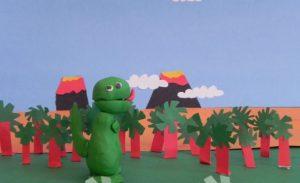 """""""Dinossauro Rex"""" é uma produção capixaba de Domingos Martins."""