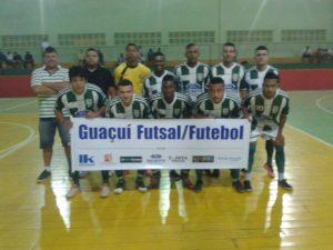 O Guaçuí Futsal se classificou para mais uma etapa do Campeonato Regional.