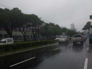 As condições continuam favoráveis para as chuvas intensas em algumas regiões do Estado.