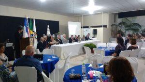 O aniversário foi comemorado na noite de sexta-feira (18), na sede do Rotary Guaçuí.