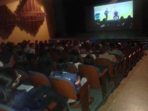 Aula aconteceu nesta sexta-feira, no Teatro Fernando Torres.