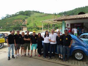 Fusca Clube Guaçuí e Clube do Fusca de Itaperuna participaram do encontro.